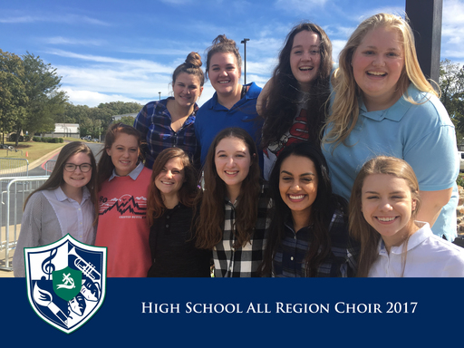Warriors named to High School All Region Choir