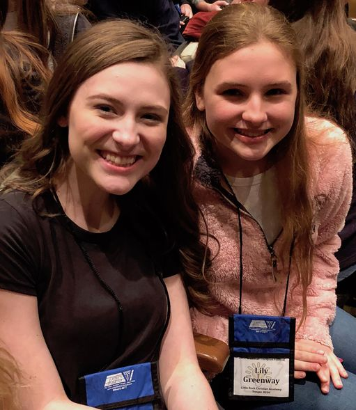 Thespian Troupe shines at State